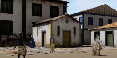 Veja um vídeo 3D da Cidade de Ouro Preto em 1760