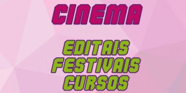 AUDIOVISUAL - Editais, festivais e cursos rolando hoje, 07 de junho!