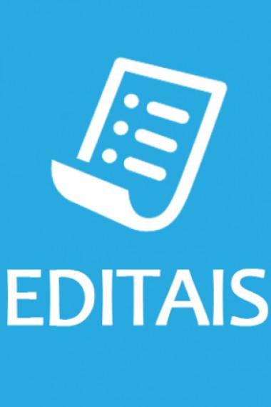 <Editais de Arte, Cultura e Economia Criativa.