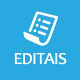 Editais de Arte, Cultura e Economia Criativa.